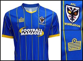 AFC Wimbledon Adult Home Shirt (2014-16)