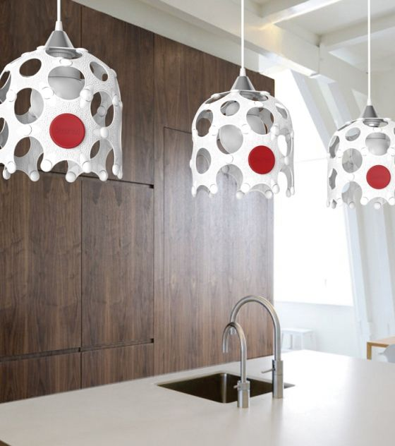This contemporary white lampshade forms part of the Award Winning Korol home décor range. It is eco-friendly and available in diff colors!! Purchase from www.wave2africa.com