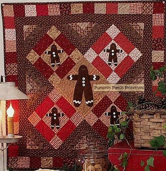 Gingerbread House Quilt Pattern Free : 17 Best images about Christmas quilts on Pinterest Block of the month, Reindeer and Quilt patterns