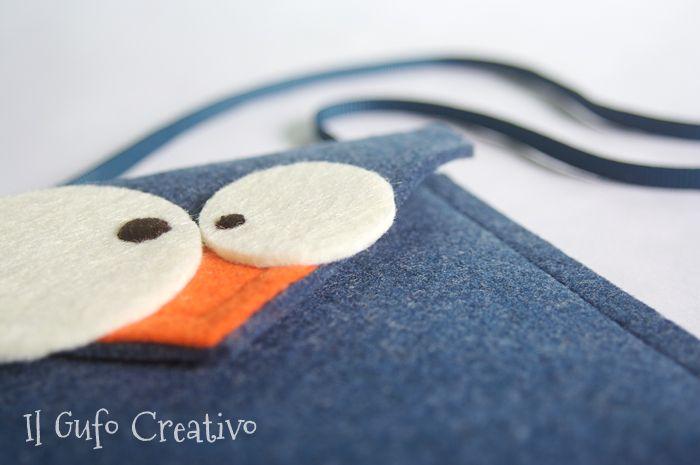 Il Gufo Creativo mini bag