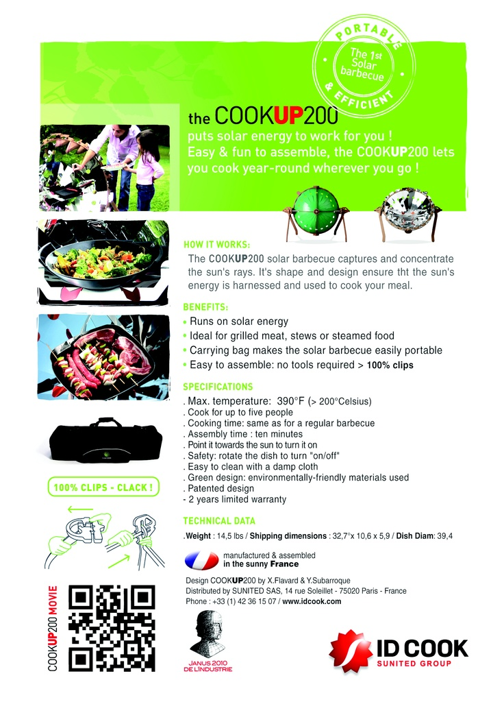 COOKUP 200 from IDCOOK