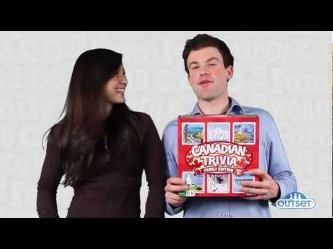 Canadian Trivia Family Edition by Outset..a How To Play video.