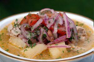 ecuadorean food   Ecuadorian Food: Encebollado de Pescado