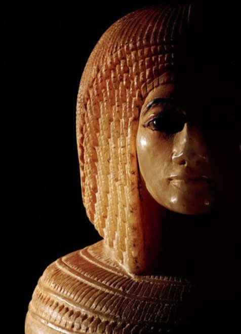 ♔ Egyptian canopic jar - The Metropolitan Museeum ~ New York