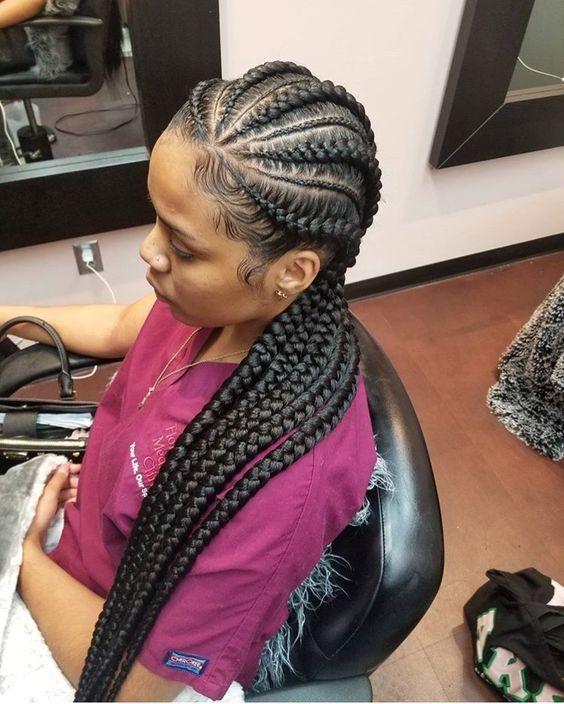 Weibliche Cornrow Styles: 55+ Schöne Frauen Frisuren für feines Haar Ideen | Richtig …