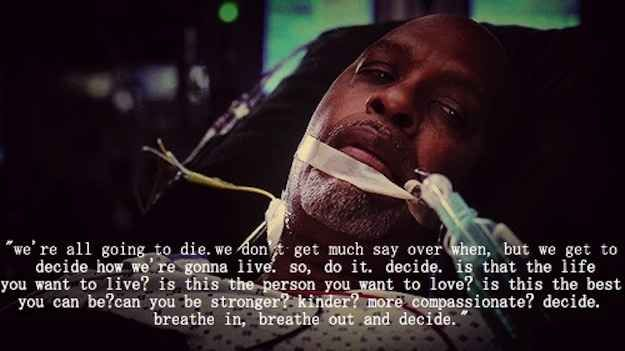Webber's dilemmas during the Grey's Anatomy Season 10 premiere | 7 Times TV Made Me Cry In 2013