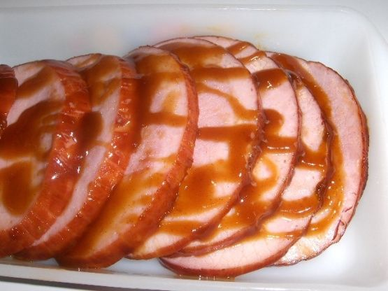 Make and share this Brown Sugar Glaze for Ham recipe from Food.com.