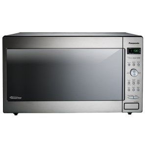 Panasonic Stainless Steel Built-In or Countertop Microwave:  The Panasonic Stainless Steel Microwave can smoothly deliver on a rapid thaw and other heating needs as well with its Turbo Defrost technology. It can cook quite elaborate meals with its settings and three cooking stages.