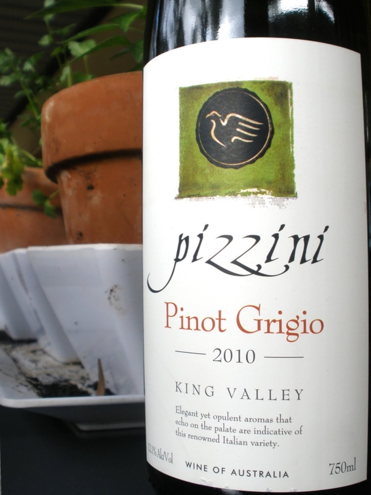 My second favourite pinot grigio