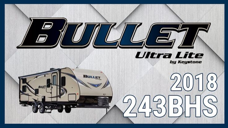2018 Keystone Bullet 243BHS Travel Trailer RV For Sale TerryTown RV Superstore Check out 2018 Bullet 243BHS now at http://ift.tt/2xRREmZ or call TerryTown RV today at 616-426-6407!  Enjoy spacious living in a lightweight easy-to-tow package! The 2018 Bullet 243BHS is now available from TerryTown RV Superstore.  This 27 foot 10 inch long double axle travel trailer is built with an aggressive front profile for increased towability. For protection from bumps and stone there is a diamond front…