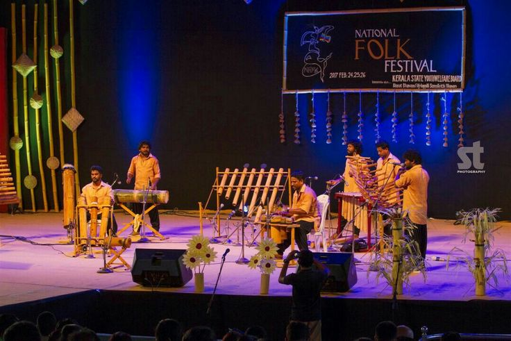 Vayali - Bamboo Orchestra, a group of young people from the cultural capital of Kerala