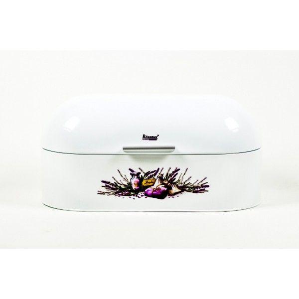 Chlebník Ronner TW-4250 , biely, kvety