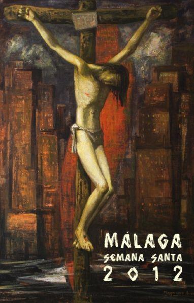 Semana Santa en directo por TV: Santa Malaga, Malaga 2012, Malaga Spain, Cartel Semanasanta, Semanasanta Cofradiasmlg, Malaga Cartel, Semana Santa, 2012 Malaga, Week