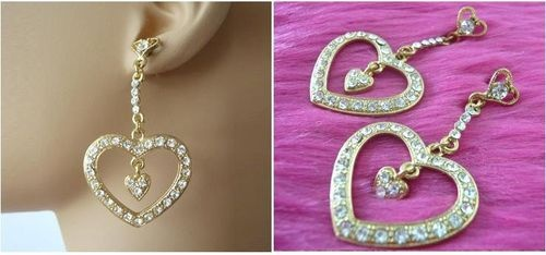 Goldtone Stud Earrings