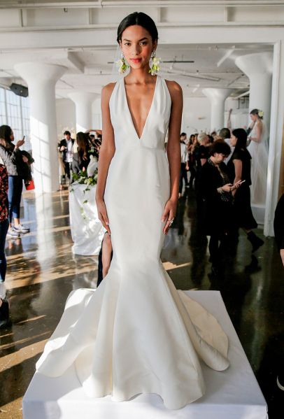 The Most Beautiful Simple Wedding Dresses for the Understated Bride | StyleCaster