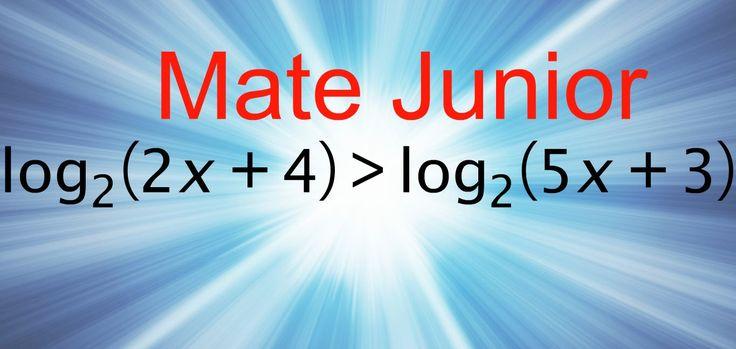 Como desarrollar inecuaciones con logaritmo