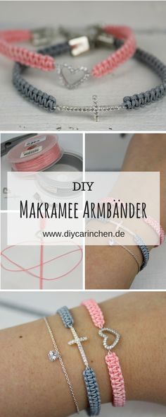 DIY Makramee Armbänder selber knüpfen – mit dieser Schritt für Schritt Anleitung und Silverbell klappt es auf jeden Fall – Maria Rass