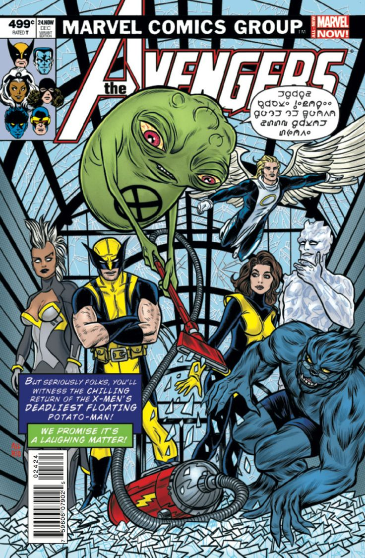 Avengers #24 - Rogue Planet - Matt & Laura Allred variant (Issue)