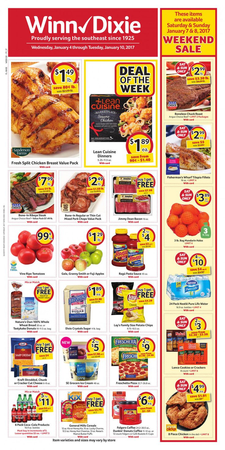 Winn Dixie Weekly Sale Paper - See the latest winn dixie weekly ad june 21 2017 and more circulars