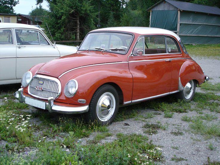 3. DKW Auto Union 1000 S mit saxomat 4- 1957 DKW 3=6, 5,6 DKW 1000s