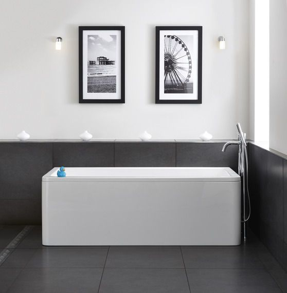Hush Back To Wall Bath | bathstore