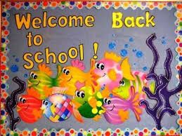 Resultado de imagen para bulletin boards welcome back school