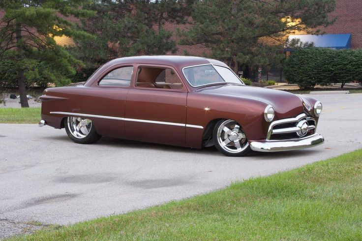 643 best images about customs on pinterest for 1949 ford two door sedan