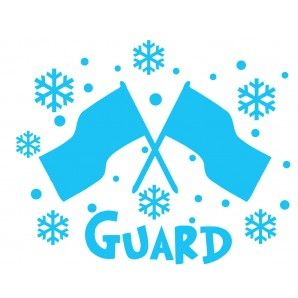 The coolest Winter Guard imiage yet :)