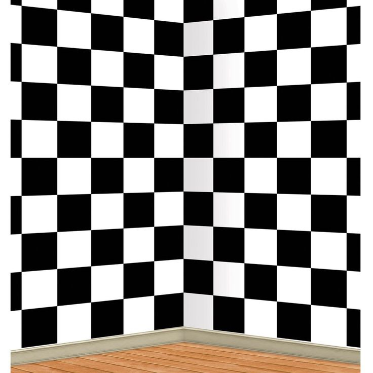50s Sock Hop CHECKERED BACKDROP Alice In Wonderland Photo Prop PARTY DECORATION