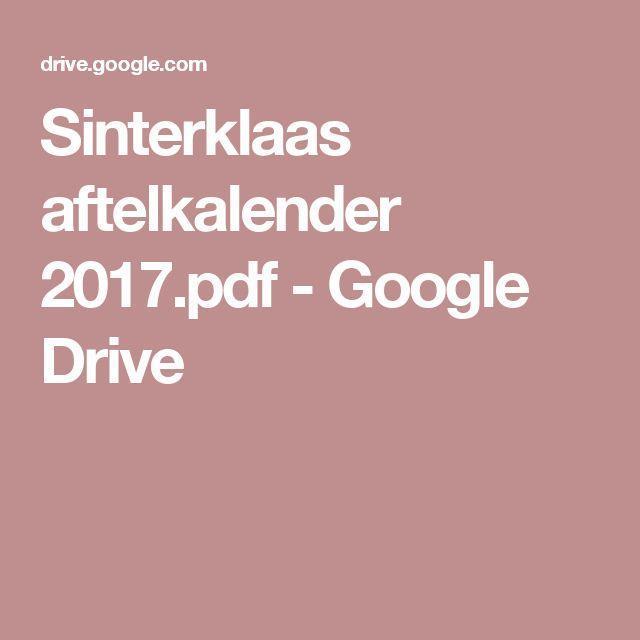 Sinterklaas aftelkalender 2017.pdf - Google Drive