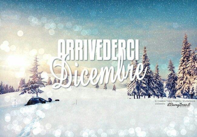 Ciao dicembre