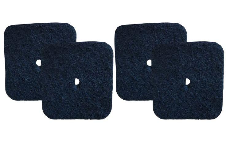 4PK Carbon Filters Fit Catit Litter Pan, Part # 50685, 50700, 50701, 50702, 50722, 50695 & 50696