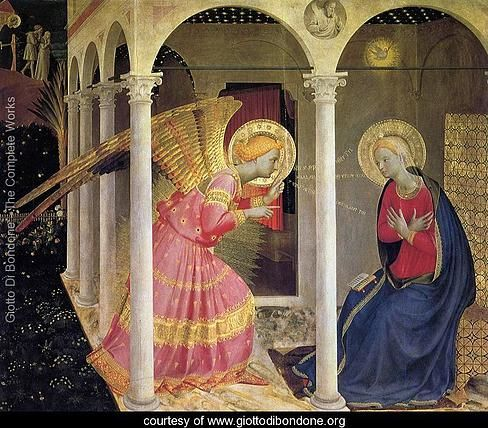 Today's Advent Reflection #3 - Giotto and The Annunciation. Karly Michelle |