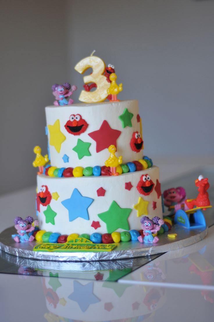 Very Cool Birthday Cake For A 3 Year Old Girl