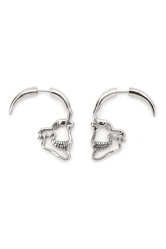 Skull earrings!  I really want to find these.  So pretty & unique.