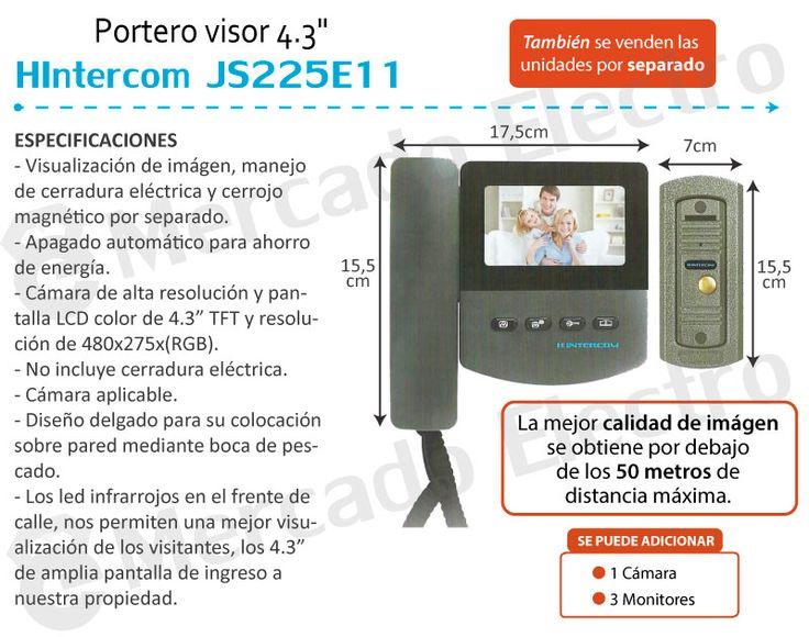 Portero Electrico Visor Hyundai Lcd Color Hd Vision Nocturna - $ 3.250,00 en Mercado Libre