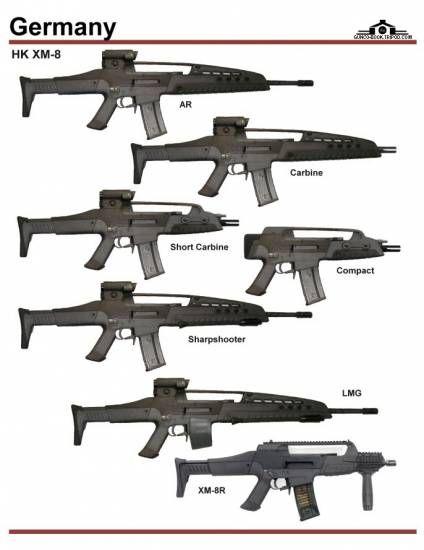 Xm8 Compact Carbine Германия: HK X...