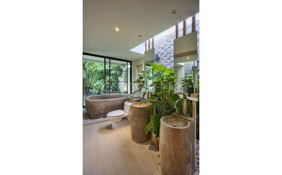 banheiros com plantas