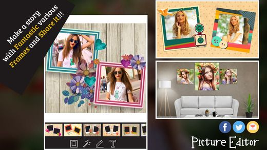 Let's the best photo editor #iPhoneApp with #Photo #Photography #BestPictureEditor #BestPhotoEditor #collage #iPhone #iOS