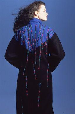 #AnnWilliamson #schwarzweiß wool coat