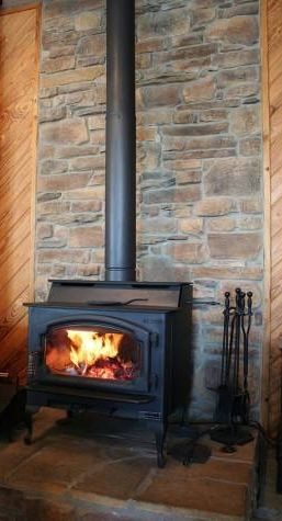 Another Stone Hearth Backdrop Decor Wood Stove Hearth Stove