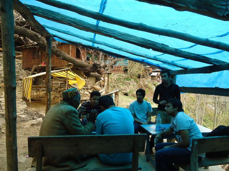 nakthan village en-route kheerganga