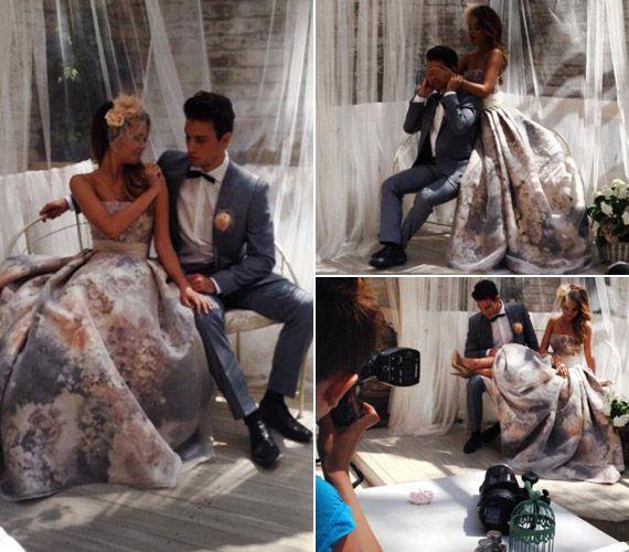 Íme, az esküvői fotók! A magyar szépségkirálynő gyönyörű volt ruhájában | femina.hu
