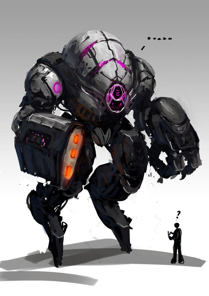 Mechbotthing by LennartVerhoeff on deviantART