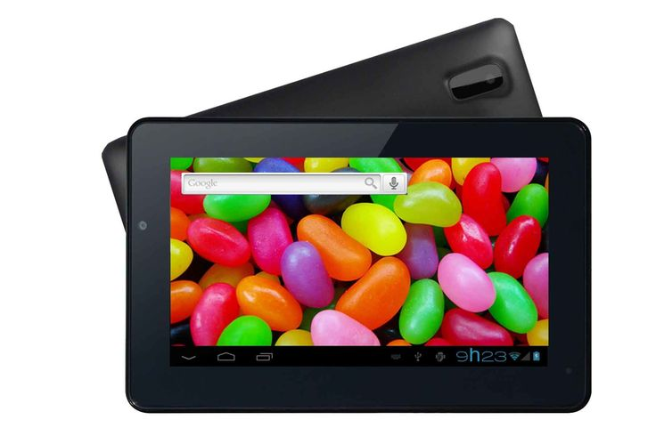 "Supersonic SC-1007JB 4 GB Tablet - 7"" - ARM Cortex A9 1.60 GHz. Powered by Android 4.1 Operating System. High Speed Arm Cortex A9 1.6 GHz Dual-Core Processor. 7 Capacitive Touchscreen Display. Resolution - 800 x 480. Built-in 4GB Internal Memory."