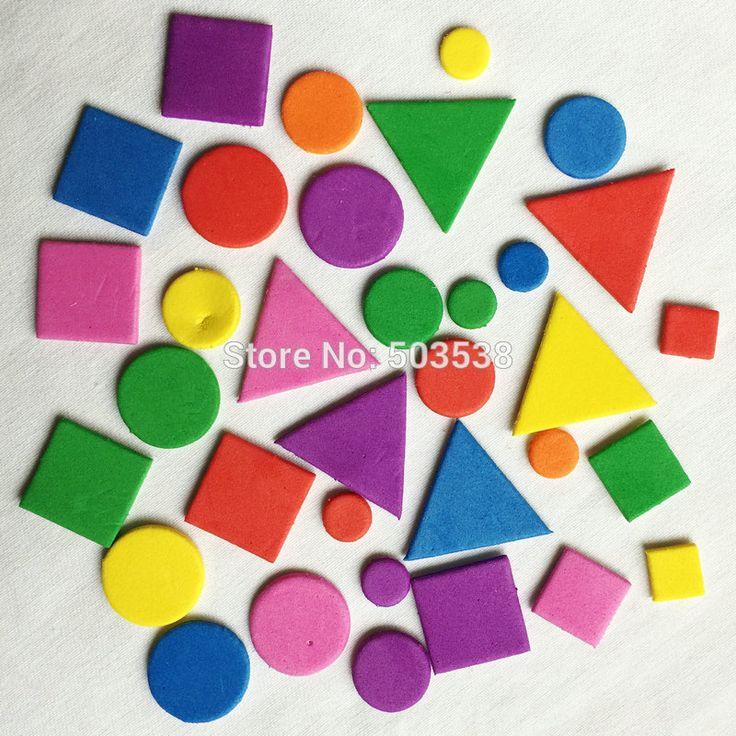Irregular Geometric Figure Stickers Kids Toy Scrapbooking Kit Early educational DIY //Price: $11.06 & FREE Shipping //     #educationaltoysbenefits