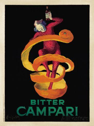 Bitter Campari, c.1921 Posters by Leonetto Cappiello at AllPosters.com
