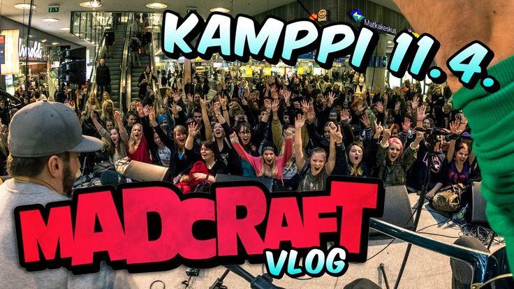 MadCraft akustisella keikalla Kampin Kevään avauksessa
