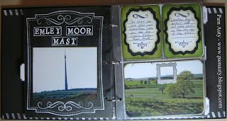 Made In Yorkshire mini album using Bo Bunny Misc Me, Cricut Elegant Edges and Art Philosophy cartridges and Project Life DIY Shop Cards. Also using Hero Arts, Studio G, Hampton Art, Kaisercraft, Crafter's Companion, Prima, La Blanche, Anna Griffin, Tim Holtz, Graphic 45, Bo Bunny and Making Memories stamps