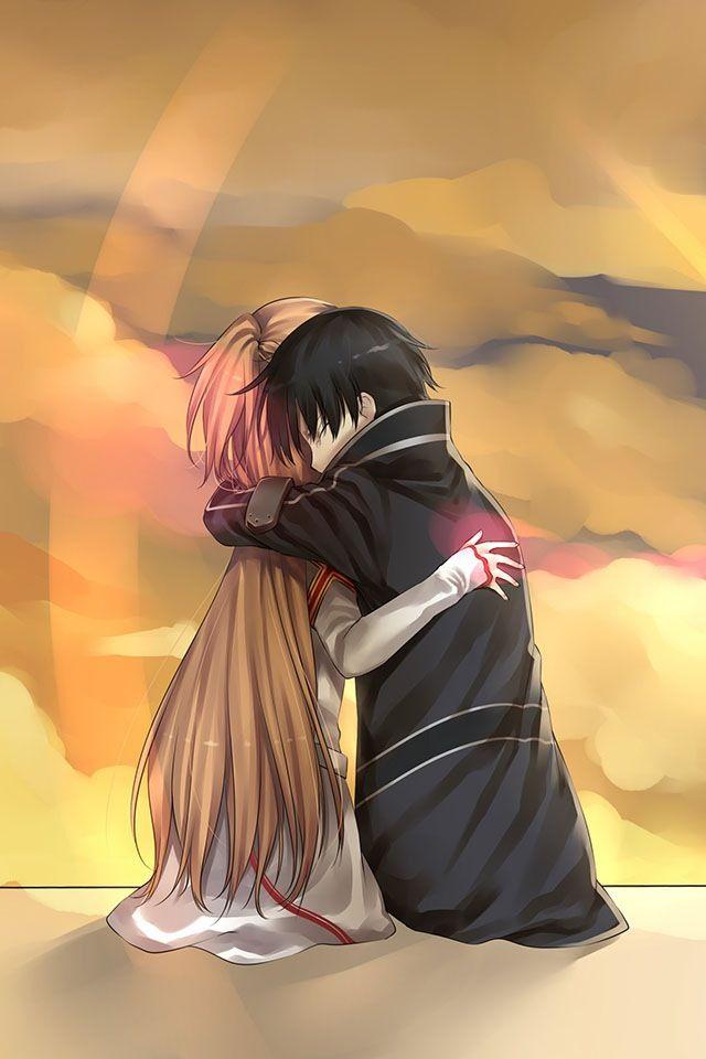 Sword Art Online. Kirito and Asuna